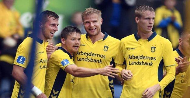 Brøndby-profile close to the switch