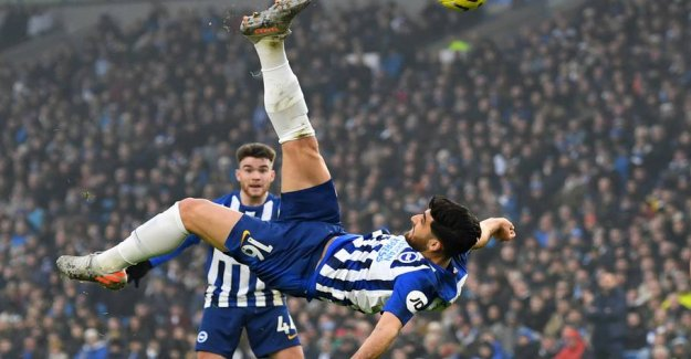 Crazy bicycle kick in the Chelsea disappointment