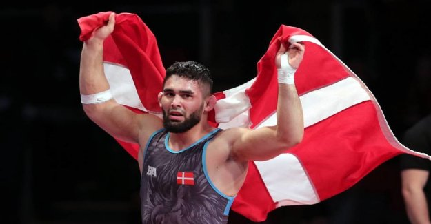 Danish law stopping european champion: Don't go to the OLYMPICS