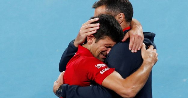 Djokovic in triumphal: One of the coolest moments in the career