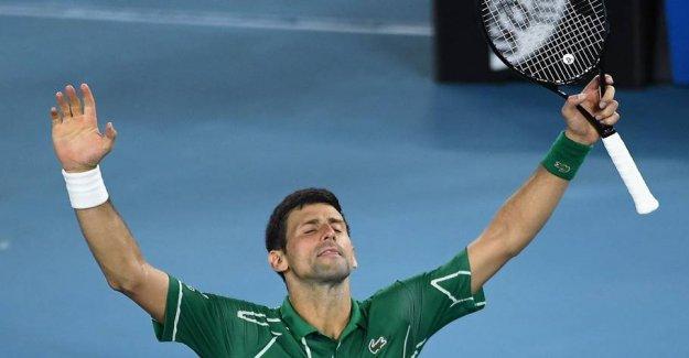 Djokovic is the final in Australia: I was nervous
