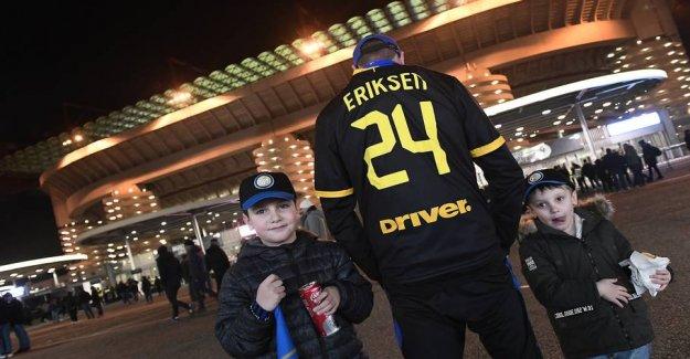 Eriksen takes Milan by storm