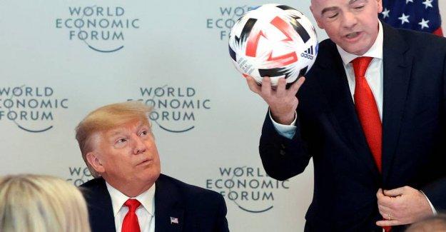 FIFA-bossens hypocritical homage of Donald Trump