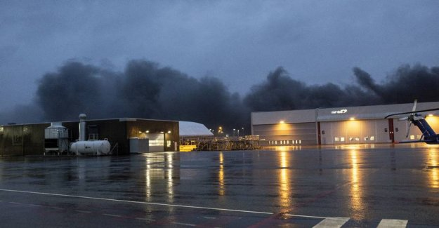 Fire: air travel in Stavanger set