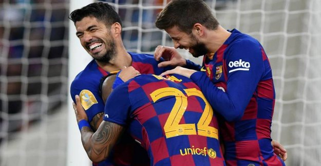 First time ever: Barcelona tops