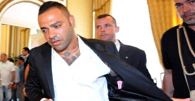 Former star jailed in mafia case