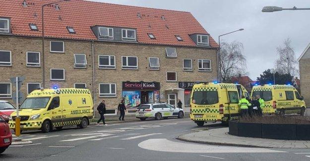 Four injured after violent stabbing