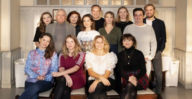 Here are the new faces on fawlty towers