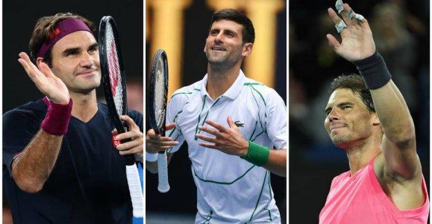 Legendary trio in the emotional tribute of Wozniacki