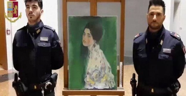 Missing painting found after 23 years