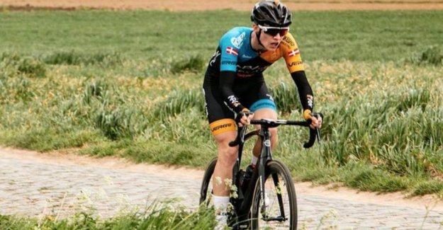 Påkørte and killed the bike-talent: Get a fine of 1500 dollars