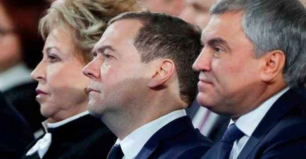 Russia's government is pulling back