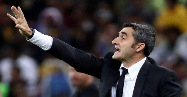 Spanish media: Barcelona have sacked Valverde