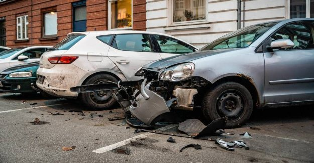 Spritstiv man påkørte nine parked cars
