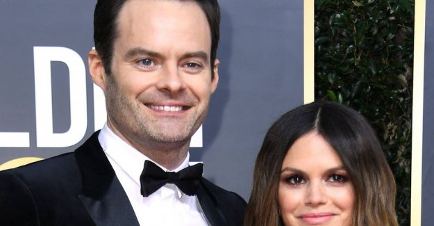 Surprises: Stands out as the couple on the red carpet