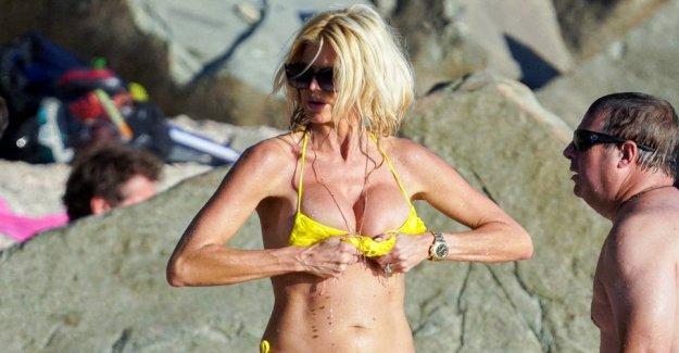 Swedish world star close to brystsmutter