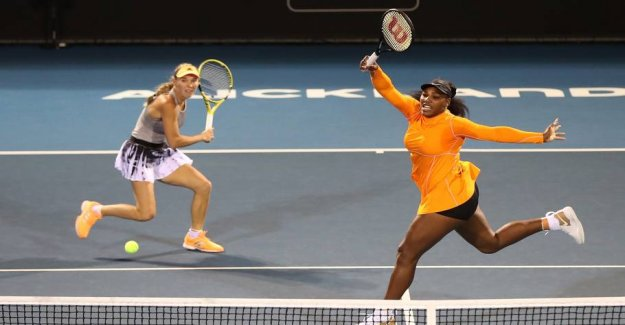 The adventure continues: Caroline and Serena in the finals