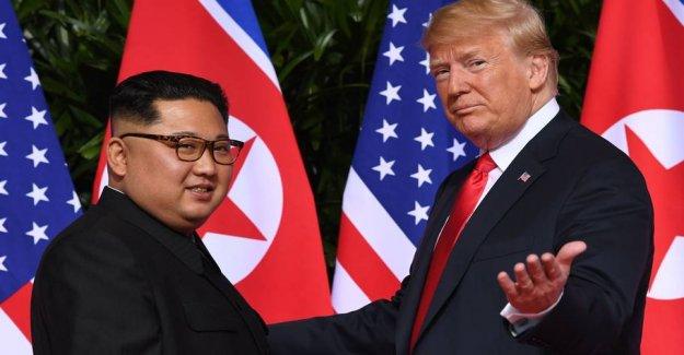 Trump sends greetings to Kim Jong-un: - An error