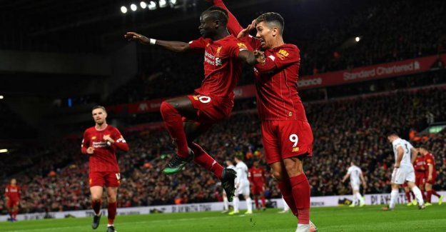 Unstoppable Liverpool storming to the title