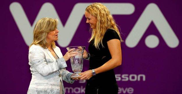 WTA-boss: Caroline gave the sport its big heart
