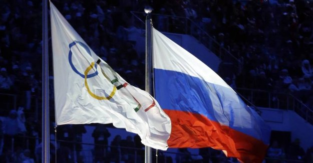 Wada sends the case on the Russian dopingstraf to the CAS