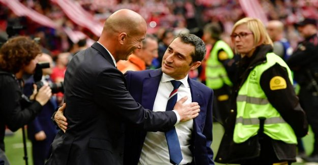Zidane on the fired Barça coach: Can happen to me on two games