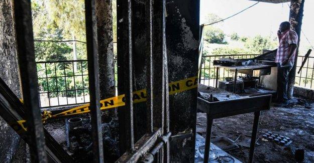 15 children died in a fire in Haiti