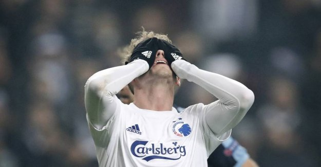 Bad news for FCK: Fischer must pause