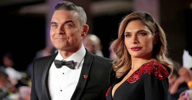 Big surprise: Robbie Williams has become a father again