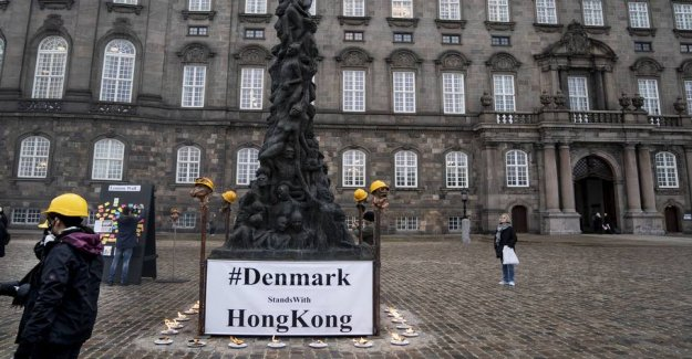 China thunders against the Danish municipality of the statue