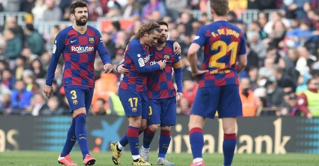 Closed down: Barcelona was hacked