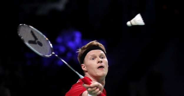 Danish badmintonmænd makes a clean sweep at the european championships