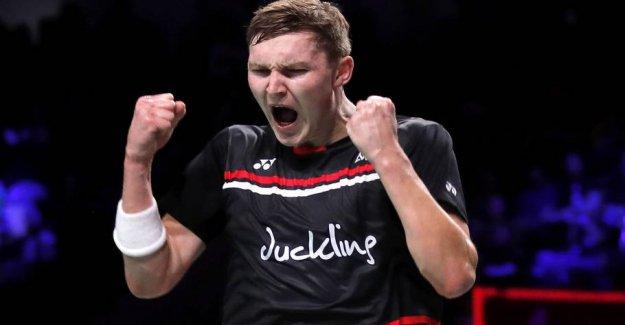 Danish badmintonmænd running Latvia than in the EM-lynsejr