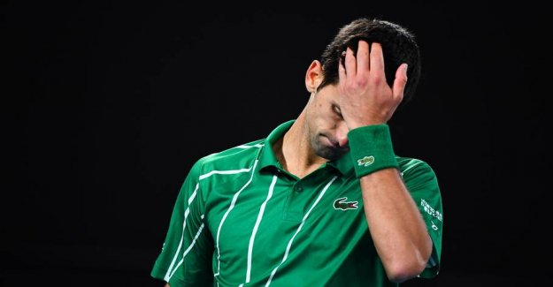 Djokovic was dizzy: - Collapsed completely