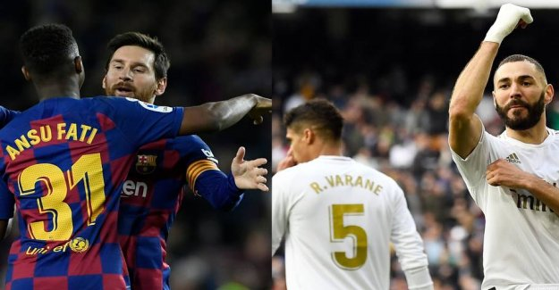 Exclusive Extra the Blade: See Barca and Real tonight