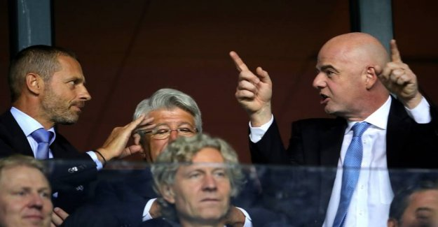 FIFA in the new conflict with UEFA and south America