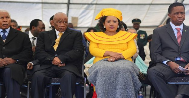 First lady accused of murder