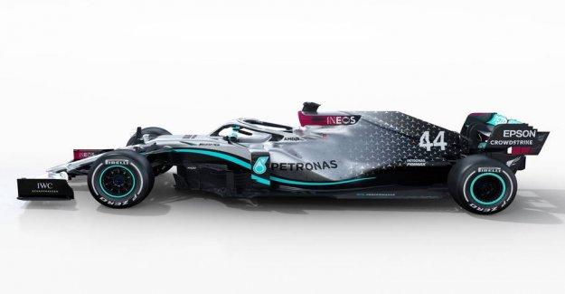 Here is Mercedes new world championship winning