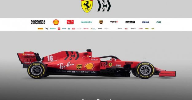 Here is the new Ferrari racer