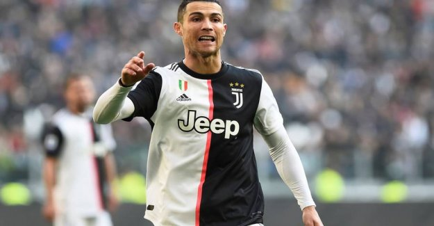 Icy Ronaldo moves from Eriksen
