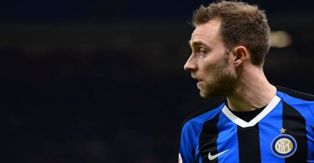 Inter-boss on the benched Eriksen: - Can not change the team's fate