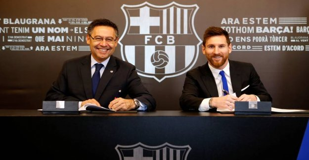 Media with wild charge: Paid Barça for harassment against Messi?