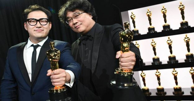 Parasite turns the favorite and win an Oscar for Best Film