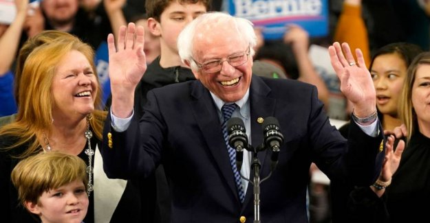 Sanders wins in New Hampshire