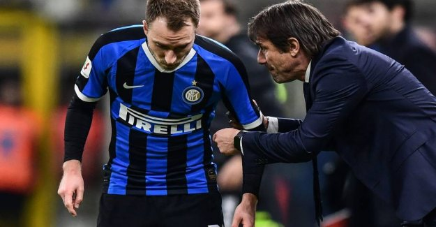The Inter-coach with the big Eriksen-resolution