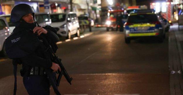 The alleged perpetrator behind the nine skuddræbte in Germany is dead