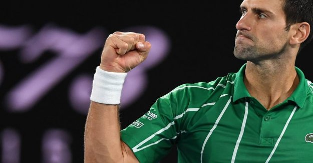 The king of the Australian Open will do it again after the big drama