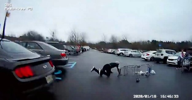 Thief on the run from the police: It went very wrong