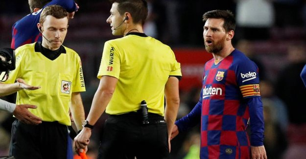 Trouble in Barcelona: Messi reaches out for the management