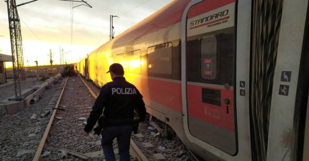 Two killed in train accident